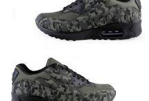 Mannen Leger Sneakers