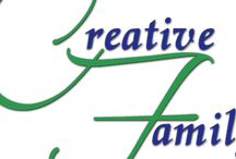 """Creative Fam / We are a family of Artists who love to create and design in all areas of life with Spiritual Inspiration. Our products range from crafting, clay modeling, calligraphy, painting, sketching, web & graphic design, music, video, sewing, knitting, cooking and so much more! We created """"Creative Fam"""" to showcase our services to the public with a store front in the near future! We personalize & customize too. Join us as we grow and enjoy some great artistic talent for you or a loved one."""