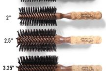 TerraLyte Brushes / Inspired by the innovative hair professionals of Spain, the RickyCare TerraLyte line features a curated collection of brushes which blend natural and synthetic reinforced materials to create a premium, quality styling experience. #hair #beauty #fashion #style #hairstyling / by Ricky's NYC