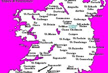 Irish History in Maps / History + Geography + Genealogy With a Special Focus on Ancient and Medieval Irish Tribes and Septs