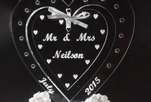 Wedding Day / Organising a wedding and looking for something with a personal touch? We offer a range of personalised table decorations, favours, cake toppers and much more....