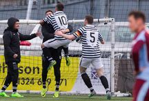 Stenhousemuir 11 Feb 17 / Pictures from the SPFL League One game between Stenhousemuir and Queen's Park. Match played at Ochilview Park on Saturday 11 February 2017. Queen's Park won the game 2-0.