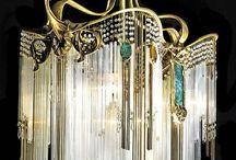 Art Deco светильники