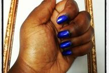 NAILS!!!!!!!!!! / Showing off polish on darker skin tones.  / by Myss Jones