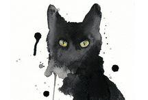 Mustat kissat