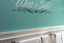 home decor- bathroom/kitchen/laundry room