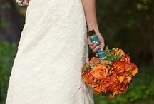 Orange wedding / by Becky Levin Navarro
