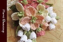 crochet Flores ideas tutorials