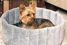 Pet Beds / Non-heated, self-heated, or heat-optional pet beds from CozyWinters! / by CozyWinters