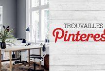 Trouvailles Pinterest: Le gris