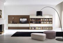 библиотека-гостиная