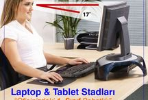 Ergonomik Ürünler / Sağlıklı bir ofis ortamı için laptop yükseltici, monitör standı, evrak tutucu, bilek destekleri, ayak ve sırt desteği gibi ofis malzemeleri Bi' tıkla www.GarantiOfis.com ile kapınızda.