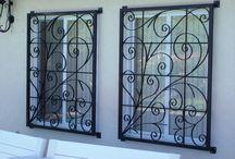 grades de ferro para janelas