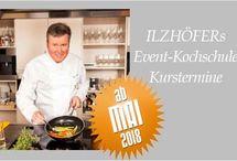 Jörg Ilzhöfers Eventkochschule / Kochkurse und Koch-Events in Stuttgart am Marktplatz bei Tritschler mit Jörg Ilzhöfer