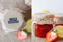 Rezepte / Erdbeermarmelade mit Zitrone