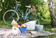 Getting Outside (camping, picnics and the backyard)