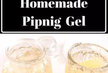Homemade Piping Gel