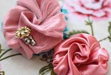 Fabric Flowers DIY / by Pure Magnolia Gowns
