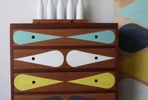 Dress up the Dresser / Vintage furniture spruced up a bit / by Janey Radford