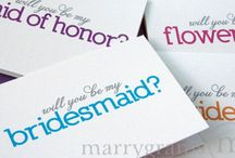 wedding-asking bridesmaid/groomsmen