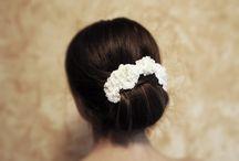 Bridal acessories / Custom made unique bridal hair accessories