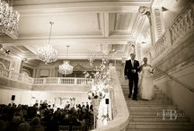 Real Weddings {National Museum of Women in the Arts} / Gorgeous weddings by Engaging Affairs at The National Museum of Women in the Arts.