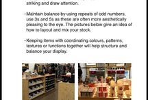 Visual Merchandising and window displays