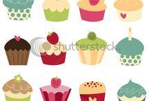 Diseño cupcake