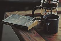 Tea,coffee and books