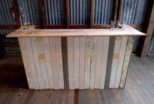 Cabin Fever Supply Dept / Cabin Fever furniture for hire.