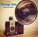 Vintage Dan / Vintage Dan  Collectors ourselves, we buy and sell a variety of vintage items.  Cameras, radios, toys and games, figurines, lights, household items, art and photographs, tools and so much more.