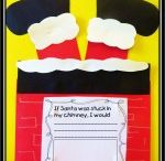 Santa claus crafts / This page has a lot of free santa claus and christmas crafts for kids