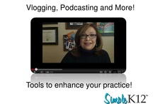 Vlogging & Podcasting / Ever wanted to move beyond blogging with your students but were afraid to try? Fear no more! Sides here on a webinar presentation by Lisa Dabbs on three easy-to-use Web 2.0 tools that will enhance your work in the classroom.