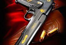 Armes à feu.PISTOLET.FUSILS.
