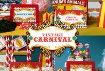 Theme - Circus/Carnival / by Jessi Maynard