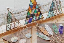 Stained glass ideas, suncatchers & other glass objects / prostě blejskátka :)