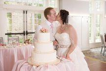 First Bites / Traditional cake cutting pictures of our customers first bites as married couples :)