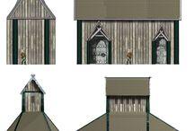 Kulthuse og stavkirker