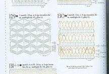 вязание. узоры