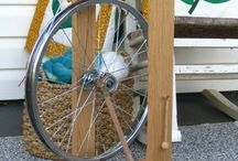 Spinning Wheels / Easy to make and functional spinning wheels.