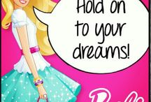 Barbie4 World plaatjes / getekende barbie barbie booklets reclame barbie speelsets