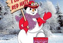Red Hat Society / by Joyce Blackford