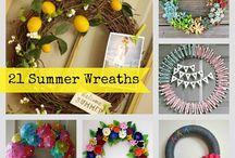 Wreaths / Front door wreath ideas