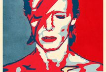 David Bowie posters