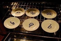 Baking plates / What/How bake on a plate
