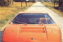 Italian Car Design 1960-1979 / Production, specials & concepts through the '60-'70s.
