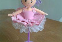 кукла - ручка из фома
