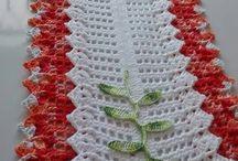 Arte em Croche: Caminho de Mesa