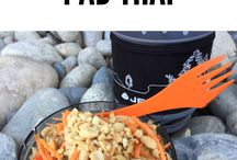Backpacking food and cooking