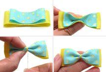 Hair clips n bows